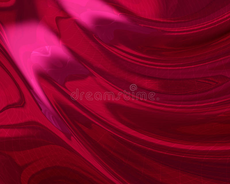 Silky red digital foil