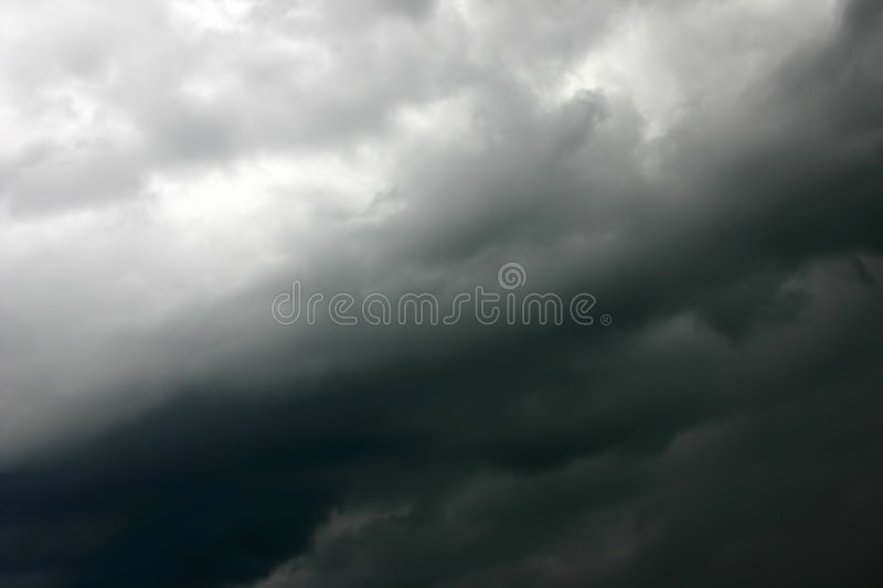 Silky storm sky royalty free stock images