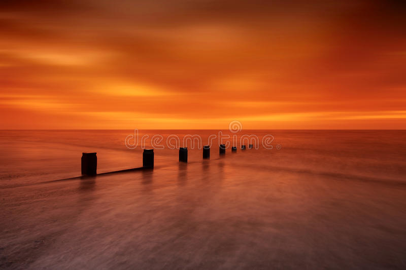 Silky Sunrise Royalty Free Stock Images
