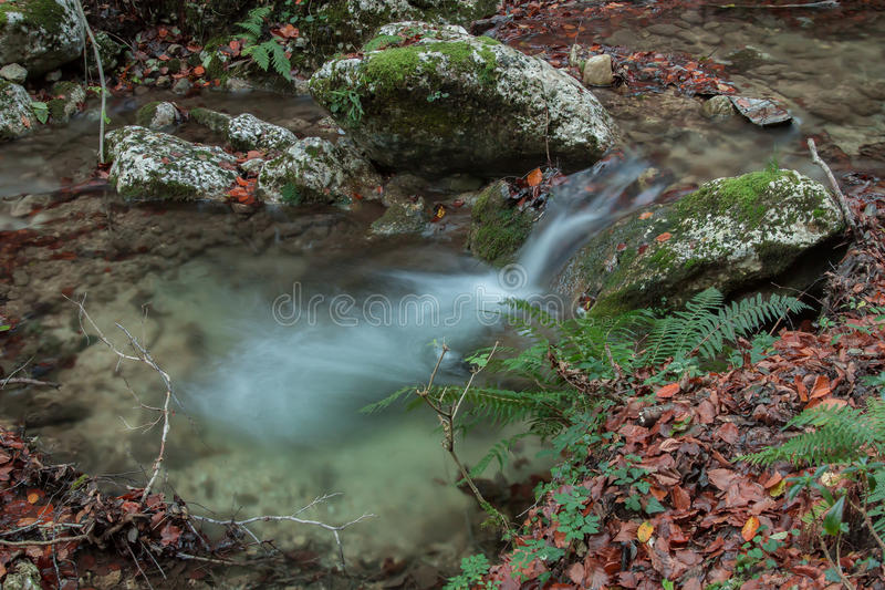 Silky water stock images