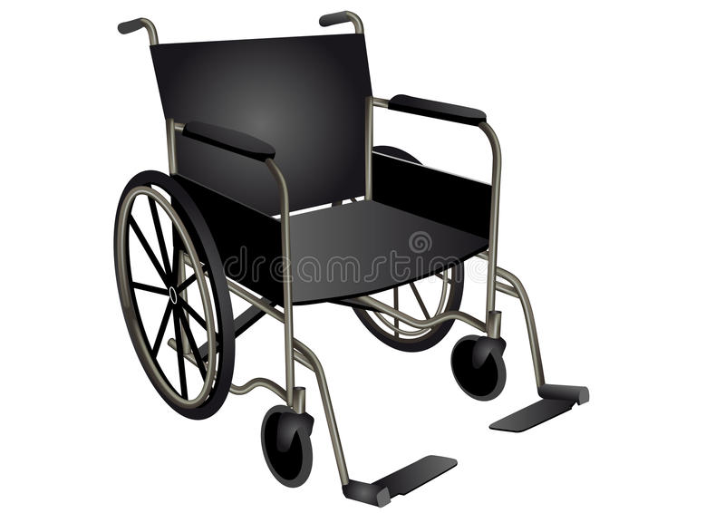 Silla de ruedas libre illustration