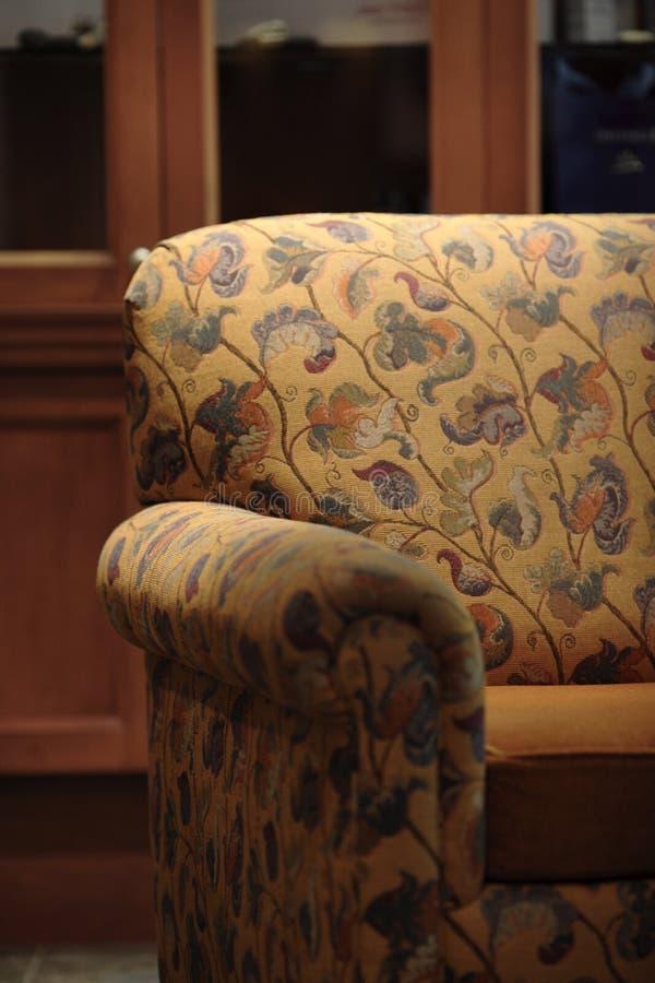 Silla del sofá imagen de archivo libre de regalías