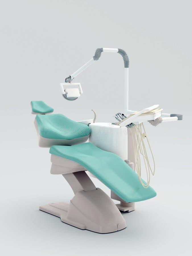 Silla dental moderna ilustración del vector