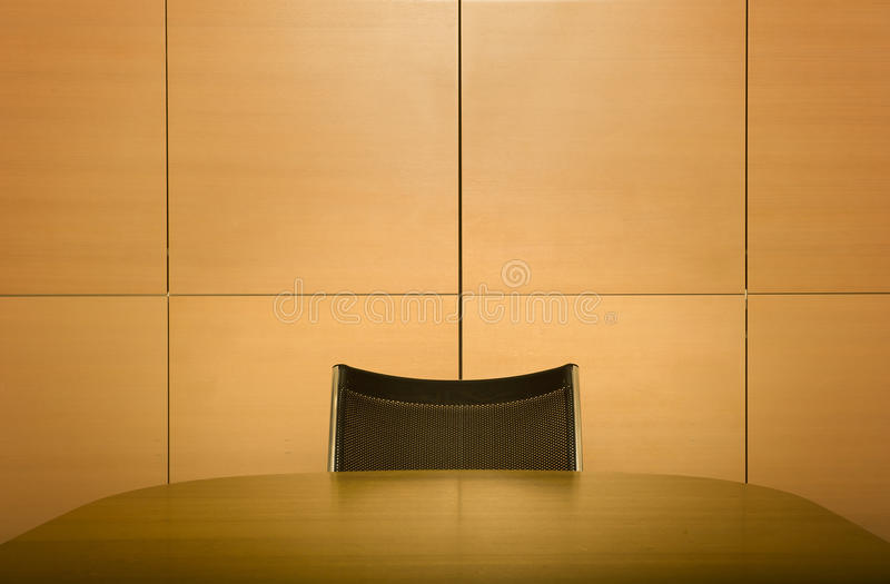 Silla en el vector de la sala de reunión imagenes de archivo