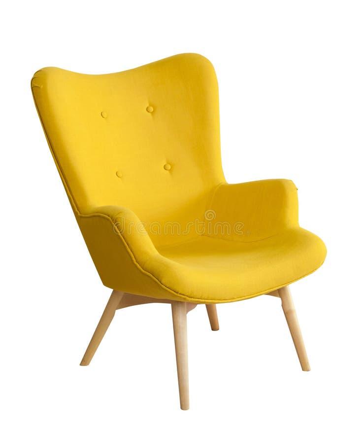 Silla moderna amarilla foto de archivo imagen de dise o - Silla moderna diseno ...