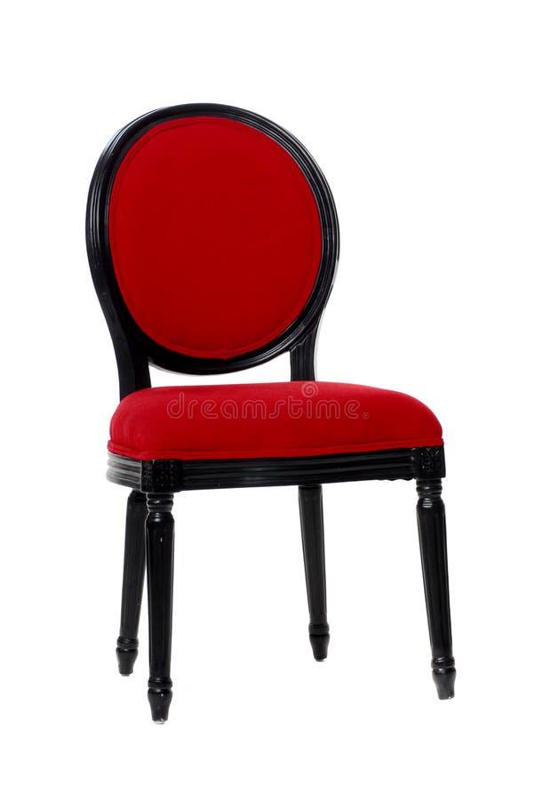 Download Silla roja imagen de archivo. Imagen de fondo, tela, aislado - 7151359