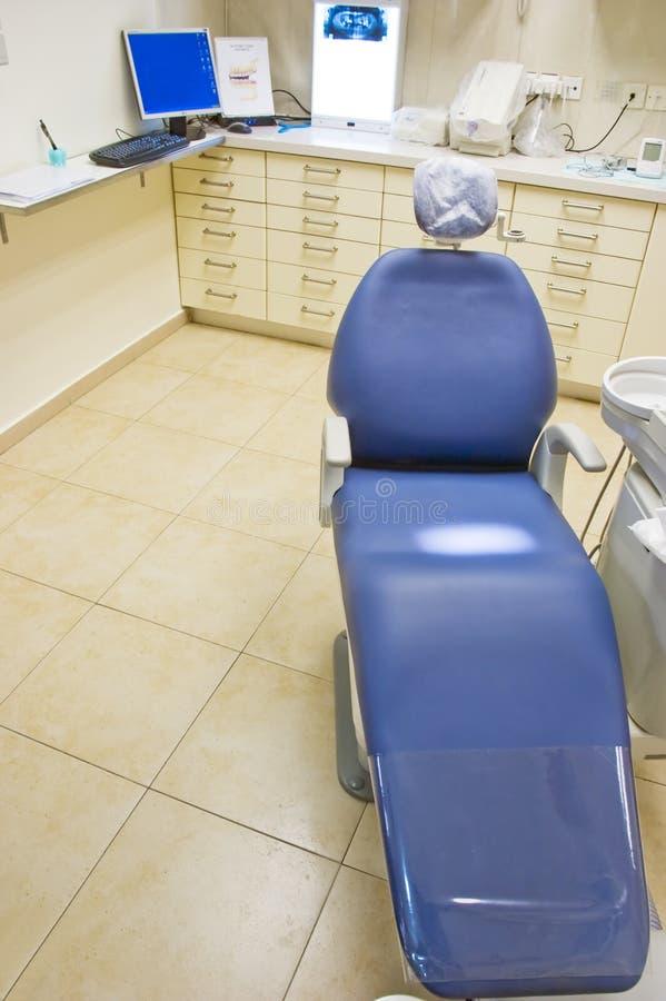 Silla y sitio del dentista fotos de archivo libres de regalías