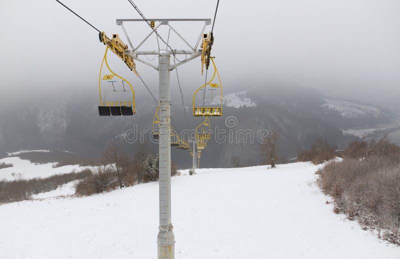 Sillas de la elevación de esquí