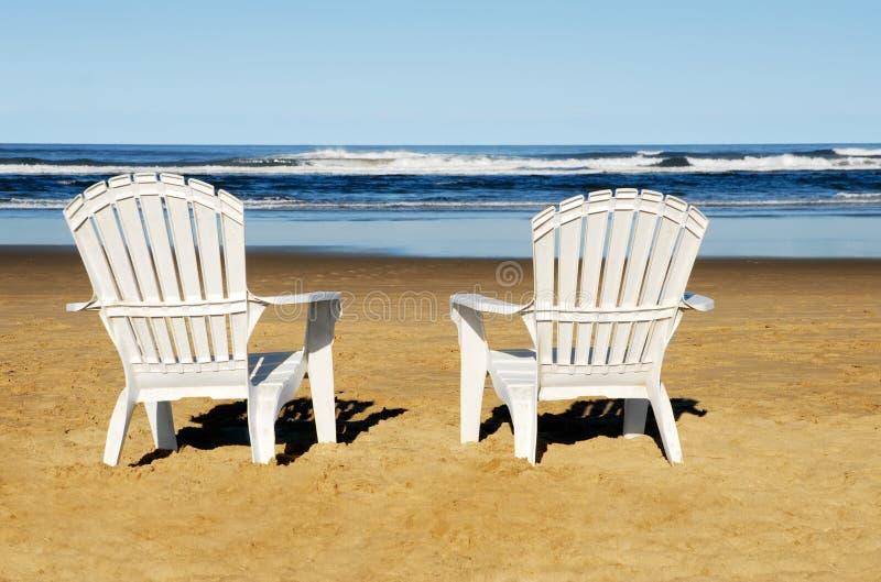 sillas de playa foto de archivo imagen de resto recurso