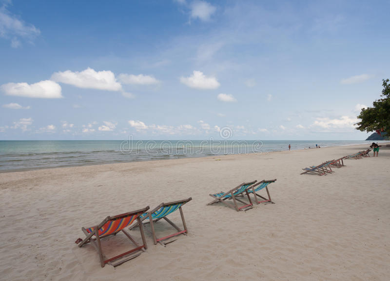 Download Sillas de playa foto de archivo. Imagen de doble, arena - 64207046