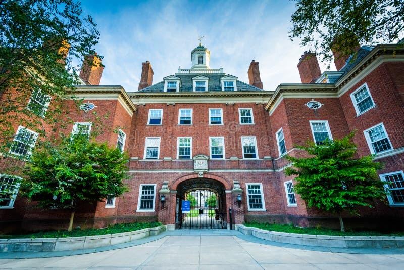 Silliman högskola, på Yale University, i New Haven, Connecticut fotografering för bildbyråer