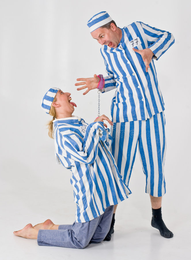 Silly Criminals stock images
