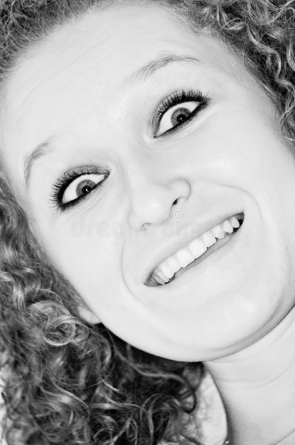 Download Silly face stock image. Image of scared, white, beautiful - 4626557