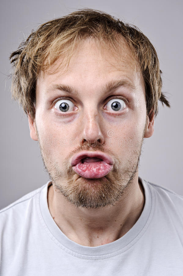 Download Silly funny face stock image. Image of close, silly, pose - 16574809
