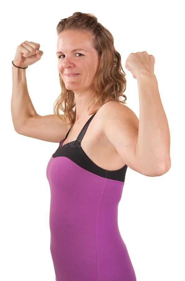 silna kobieta zdjęcia stock