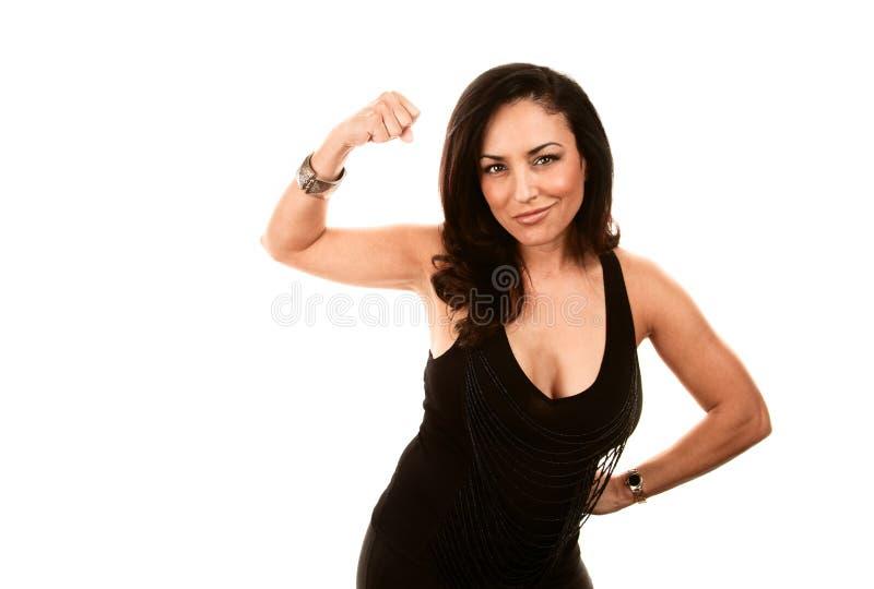 silna Latina kobieta obrazy stock