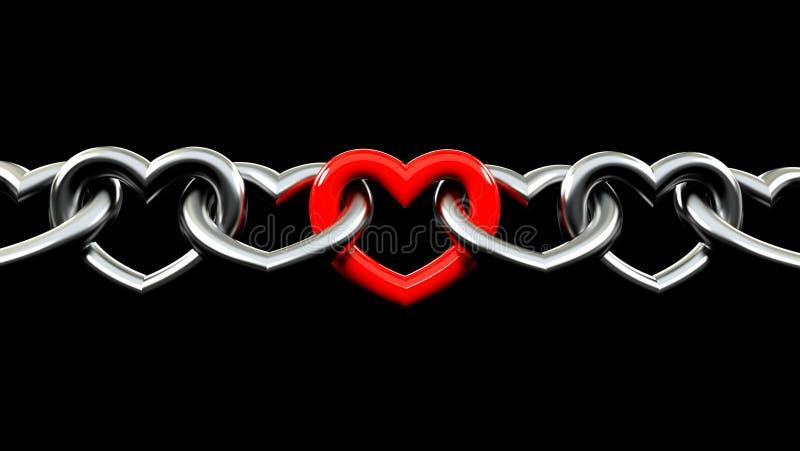 silna miłość ilustracja wektor