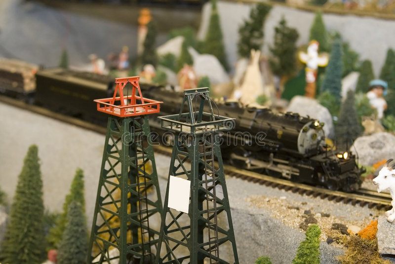 silnik miniatury pociąg obrazy royalty free