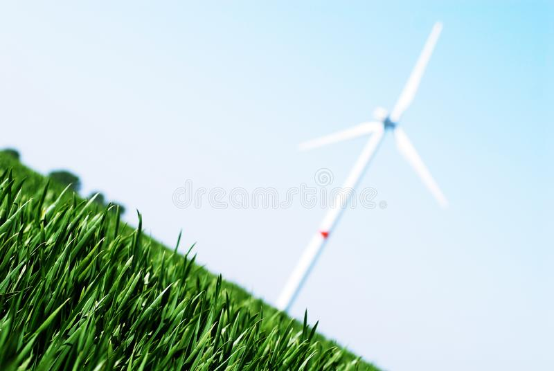 Silnik Wiatrowy Bezpłatne Zdjęcie Stock
