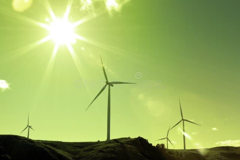Silnik wiatrowy obrazy royalty free