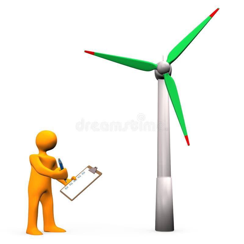 Download Silnik Wiatrowy czek ilustracji. Ilustracja złożonej z elektryczny - 28971414