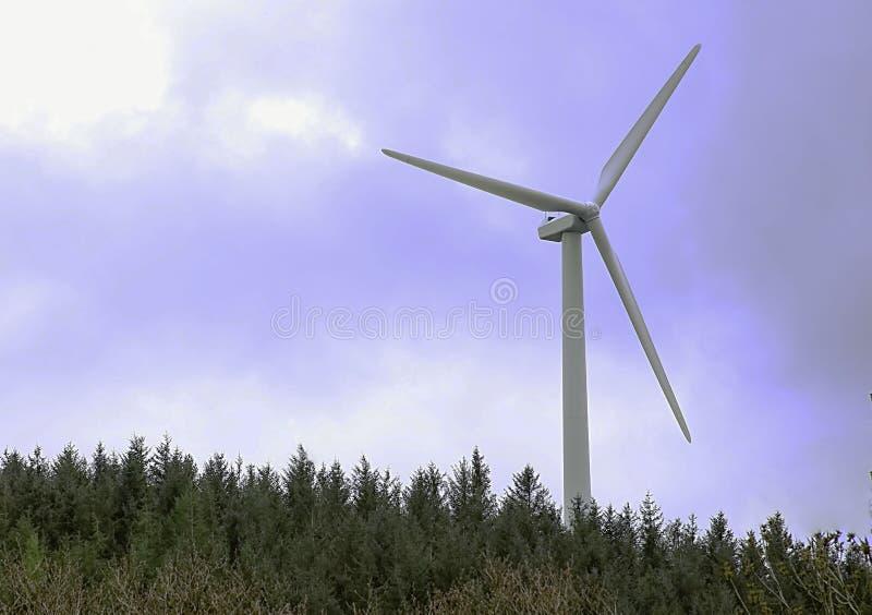 Silnik wiatrowy UK zdjęcie stock