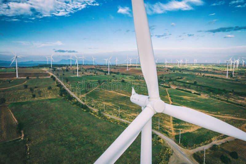 Silnik Wiatrowy, Wiatrowej energii pojęcie obrazy royalty free