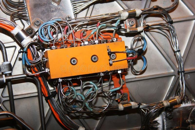 silnika pudełkowaty kontrolny strumień zdjęcia stock