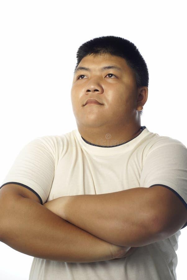 silny azjatykci mężczyzna zdjęcie royalty free
