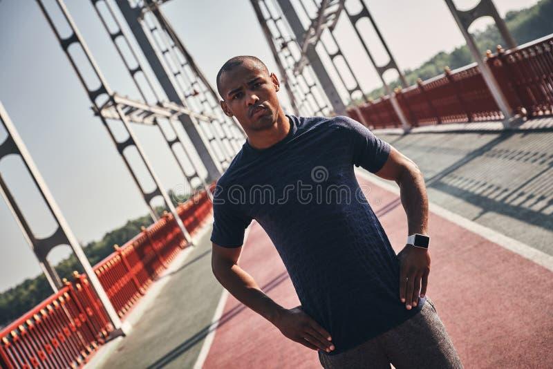 silny sportowiec zdjęcie stock