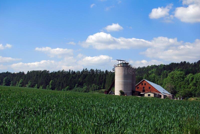 silo photographie stock libre de droits