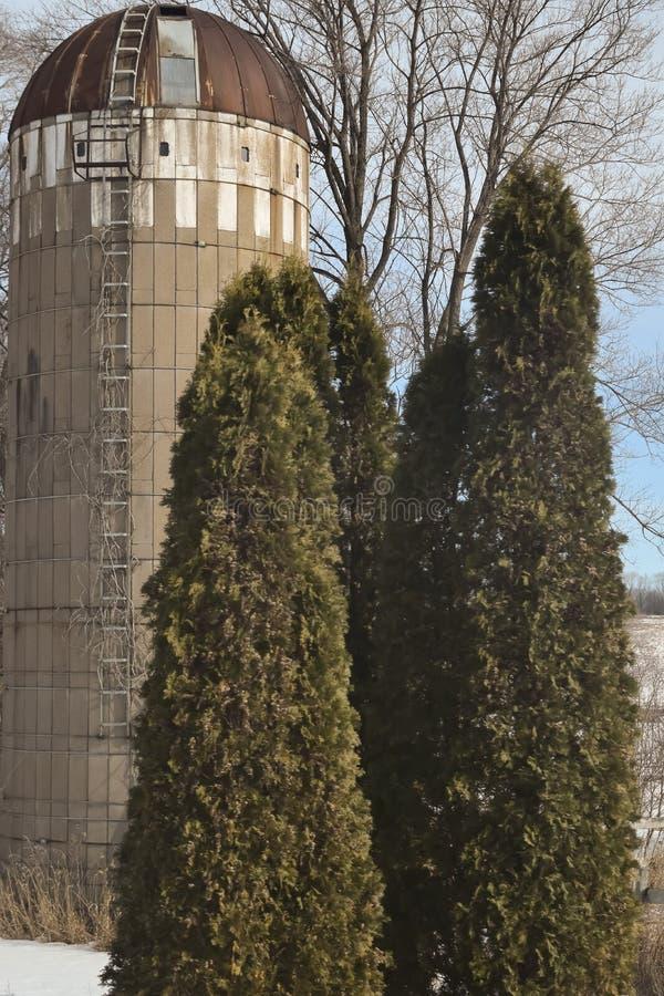 silo imagen de archivo libre de regalías