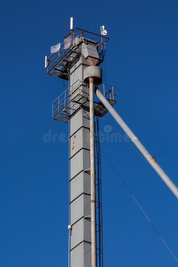 Download Silo Tower stock image. Image of farming, communication - 29888129
