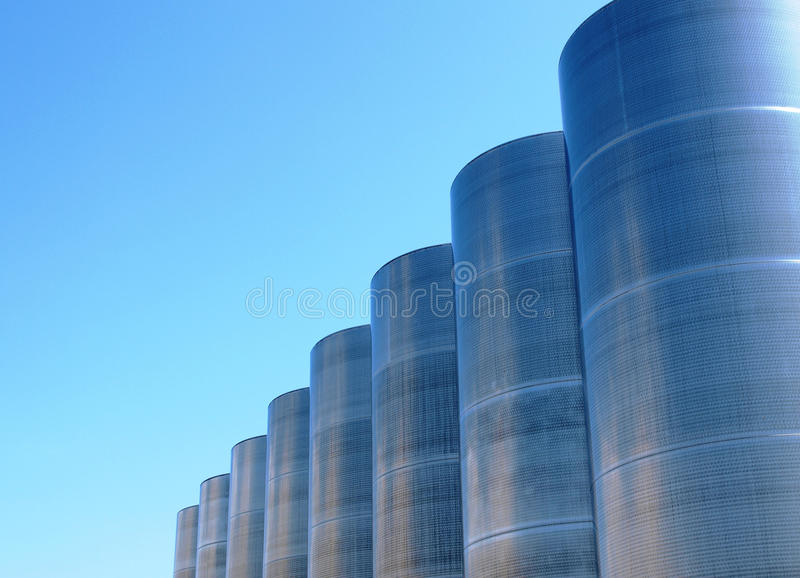 Download Silos stock photo. Image of water, storage, manufacturing - 14012296