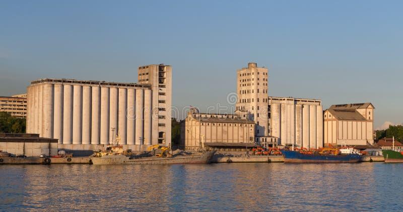 silos royaltyfri fotografi