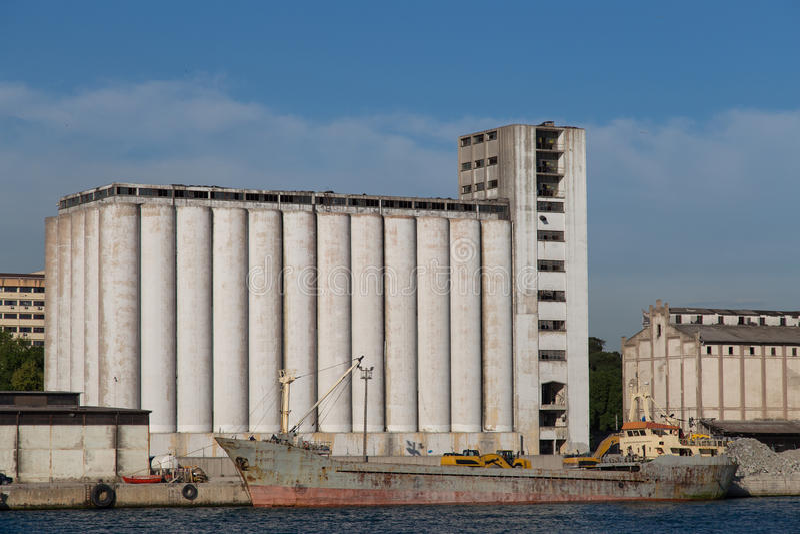 silos arkivfoto