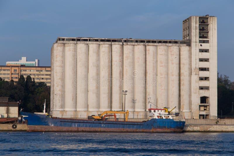 silos arkivfoton