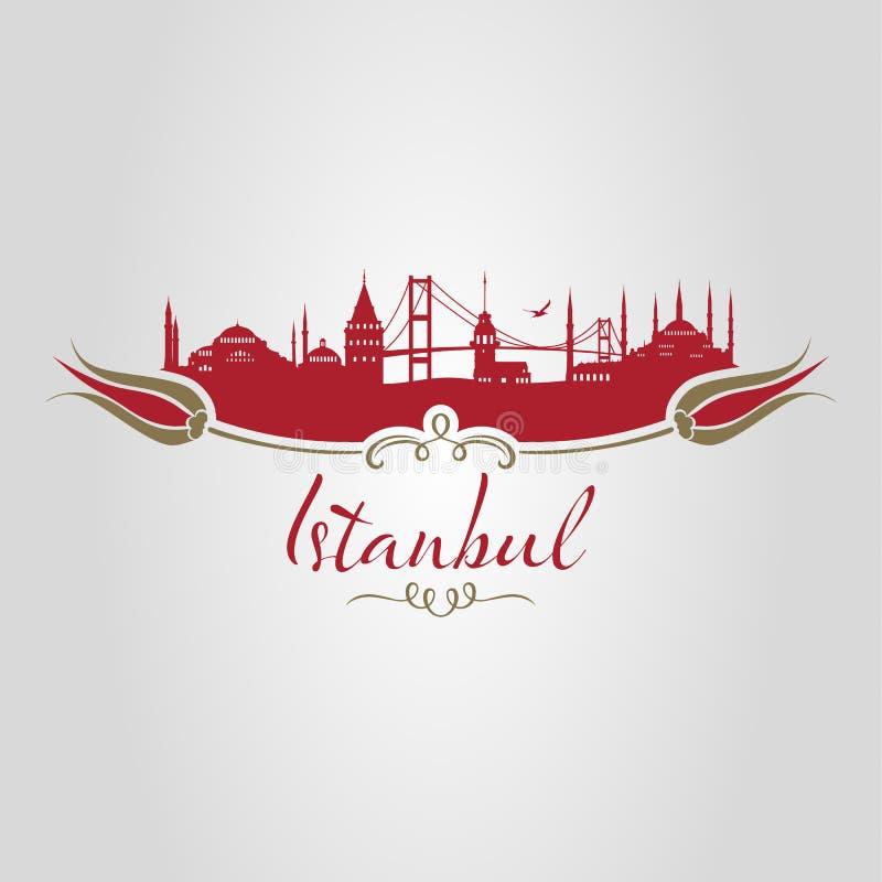 Silueta de Estambul libre illustration