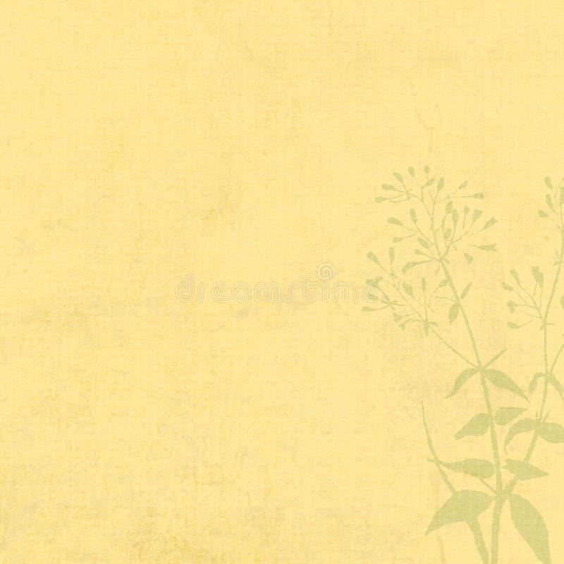 Silueta de Grunge de la textura del fondo stock de ilustración