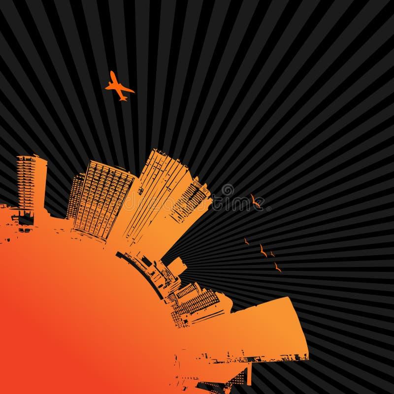 Silueta de la ciudad. Arte del vector libre illustration