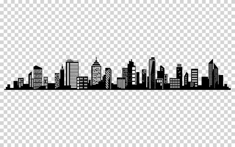 Silueta de la ciudad del vector