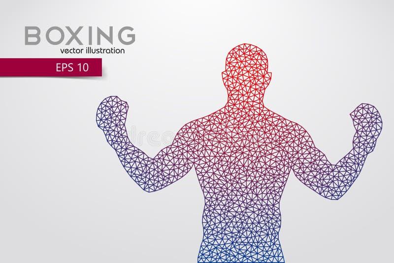 Silueta del boxeo boxeo Ilustración del vector libre illustration