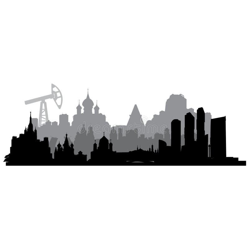 Silueta del vector de Rusia libre illustration