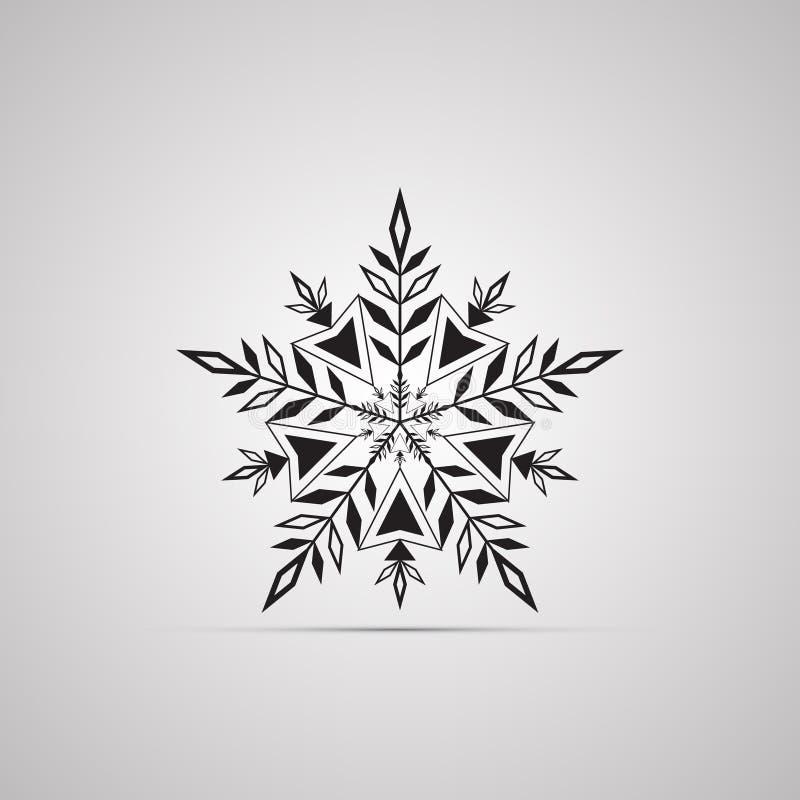 Siluetee El Icono Plano, Diseño Simple Del Vector Con La Sombra ...