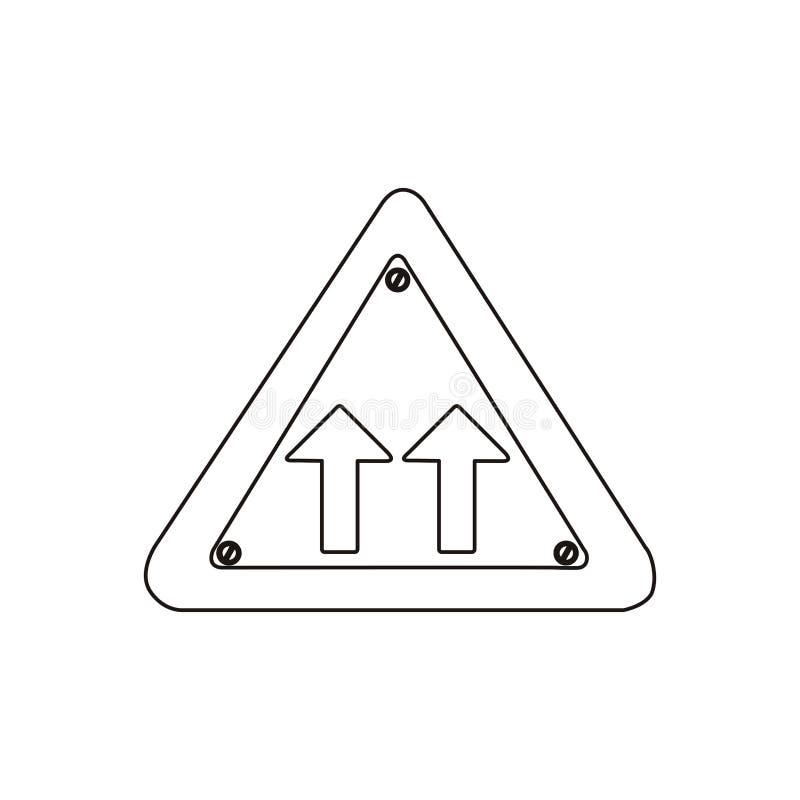 Siluetee El Marco Metálico Del Triángulo La Misma Muestra Del ...