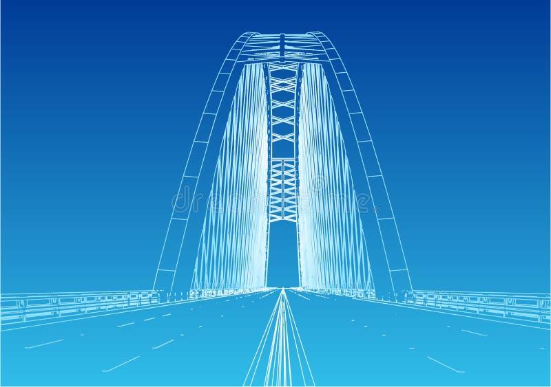 Download Siluetta Di Golden Gate Bridge Illustrazione Vettoriale - Illustrazione di ponticello, rosso: 30829411