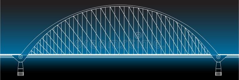 Download Siluetta Di Golden Gate Bridge Illustrazione Vettoriale - Illustrazione di illustrazione, francisco: 30829458