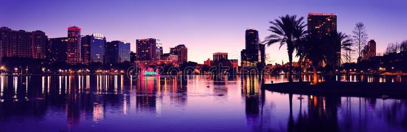 Siluetta di Orlando immagini stock