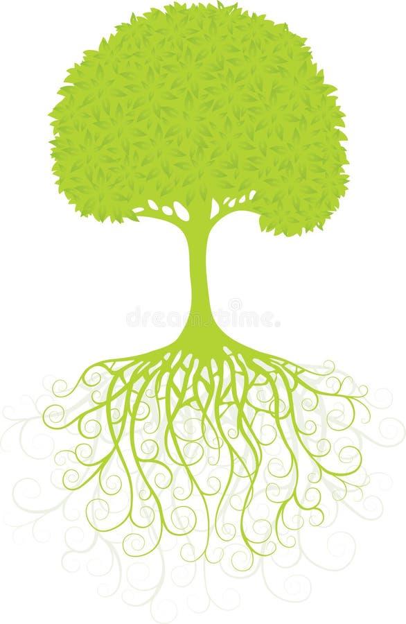 Siluetta di un albero royalty illustrazione gratis