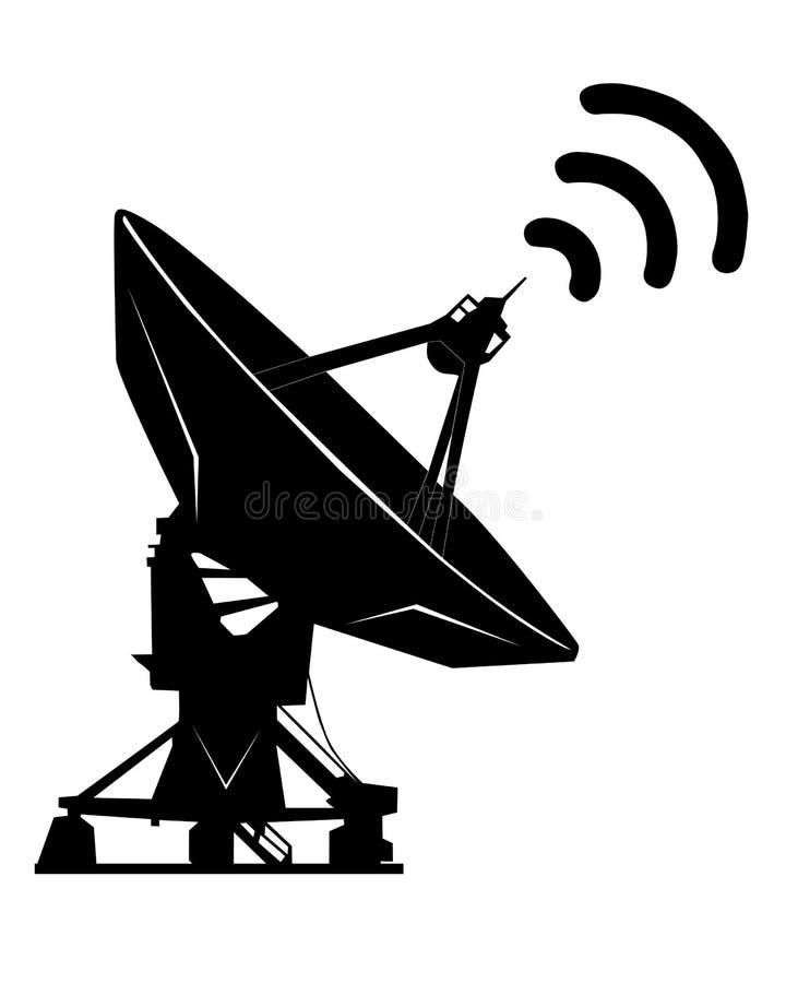 Radar fotografie stock